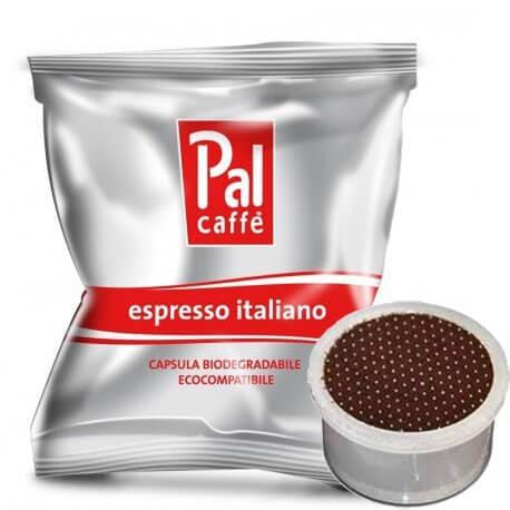 100 Capsule Palombini PAL Caffè Tostatura Media Compatibili su Macchine Lavazza Espresso Point