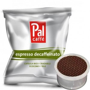 Decaffeinato in Cialde Compatibile Lavazza Point Palombini PAL Caffè Scatola da 50