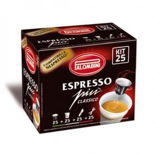 Compatibili Nespresso Caffè Palombili Espresso Più Classico 10 Capsule