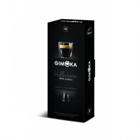 Gimoka caffè vellutato Compatibile Nespresso 10 capsule