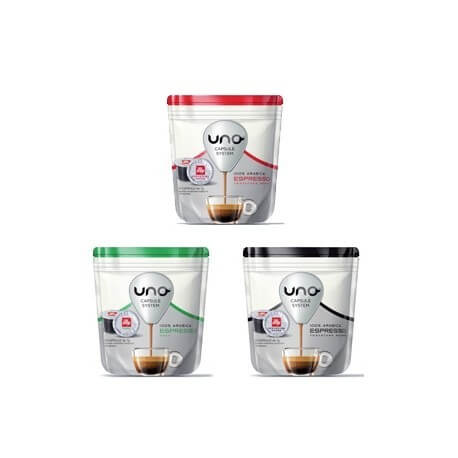 288 Capsule Illy Uno System anche Miste
