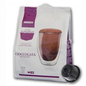 16 Capsule Nescafè Dolce Gusto Compatibili Cioccolata Gimoka