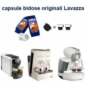 20 Capsule Lavazza Espresso Point Bidose (40 caffè) Crema e Aroma