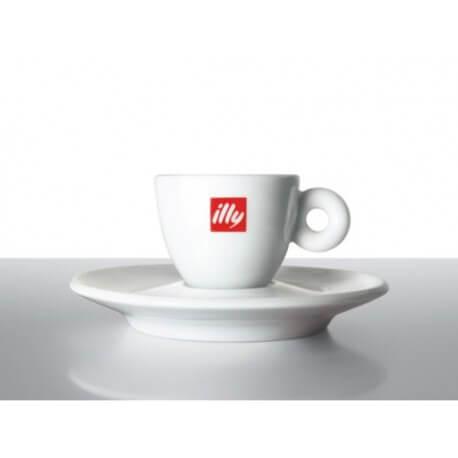 Tazzine Espresso illy Pz. 2 + 2 Piattini